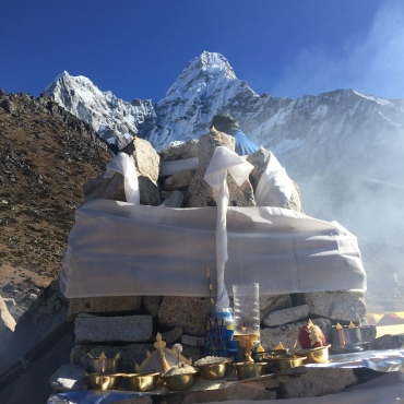 Puja at AmaDablam